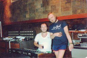 Pete & John Punter at Air Studios, Montserrat 82