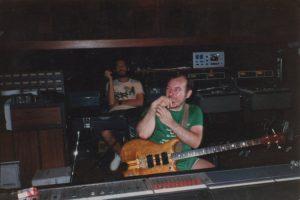 Pete & John Locke at Air Studios, Montserrat 82