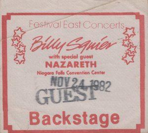 Convention Center, Niagara Falls, NY guest pass 24.11.82