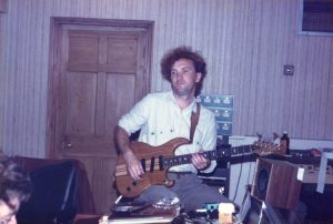 Zal about to Rip It Up, Jacob's Studios August 83