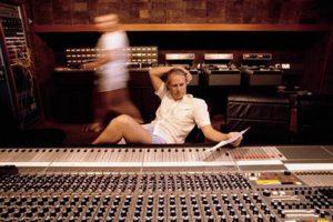 George Martin at Air Studios