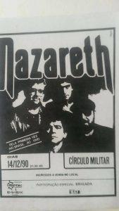 Circulo Militar, Curitiba, Brazil advert 14.12.90