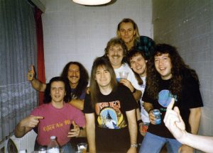 Me an' Keith with the Heeps. Kulturhaus AMO, Magdeburg, Germany 27.2.93