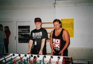 John O'Leary & Tam Sinclair, Oberwart, Austria 15.9.93