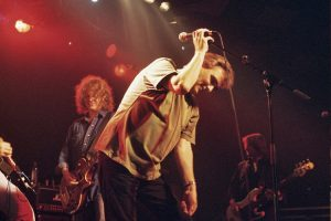 Singing The Rock with Full House. The Barras, Glasgow 7.9.02
