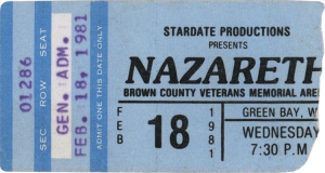 Brown County Veterans Arena, Green Bay WI ticket 18.2.81