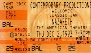 The American Theatre, St Louis MO ticket 2.12.93