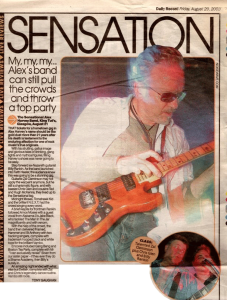 Daily Record King Tut's review 29.8.03