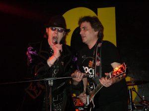 With Max Maxwell @ Rock Radio Birthday Bash aftershow, G2, Glasgow 08