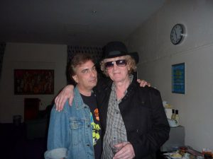 With Ian Hunter @ Tartan Clef Awards, SECC, Glasgow 27.11.09