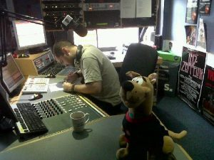 Ciaran aka Father Ted Rock in Studio 10