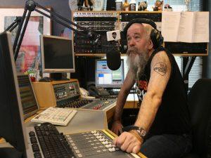 Tom in studio 10