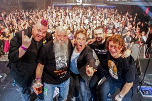 Bring Back Rock Radio Bash, The Garage, Glasgow 9.9.16 L-R Jim Gellatly, Tom, Billy, Ted & Donald