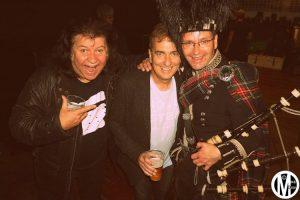 With Chris Glen @ Bring Back Rock Radio Bash, The Garage, Glasgow 9.9.16