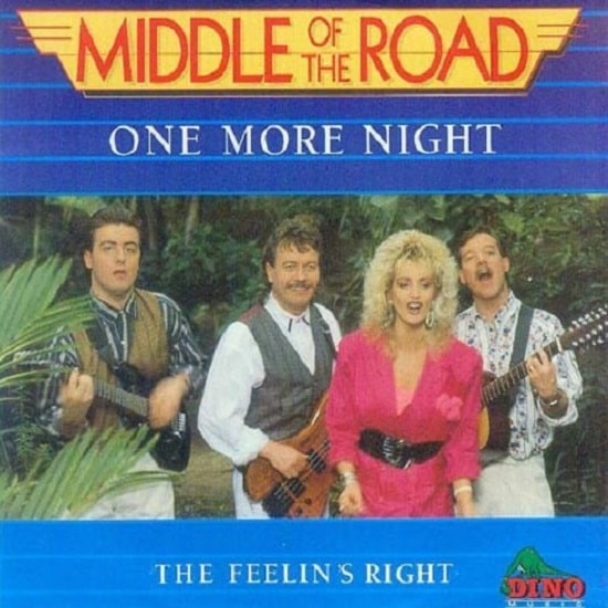 Middle Of The Road - One More Night CD front cover 89