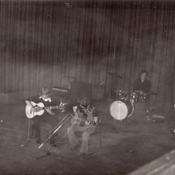 Kirkintilloch Town Hall 74. Phase first gig.