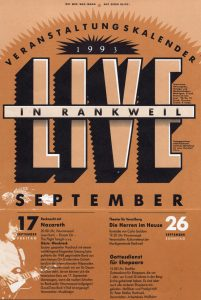 Rankweil, Austria poster (part) 17.9.93