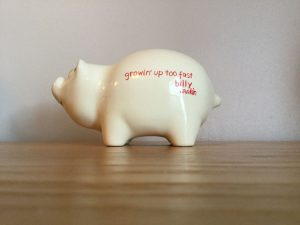 I'm Bankin' On Rankin piggy bank promo 84