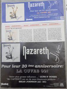French magazine No Jive cuttings 92