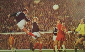 Kenny Dalglish scores for Scotland 12.10.77