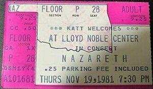 Lloyd Noble Center, Norman, OK ticket 19.11.81