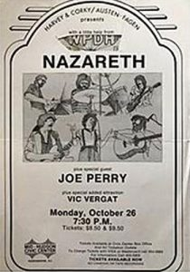 Mid Hudson Civic Center, Poughkeepsie NY advert 26.10.81